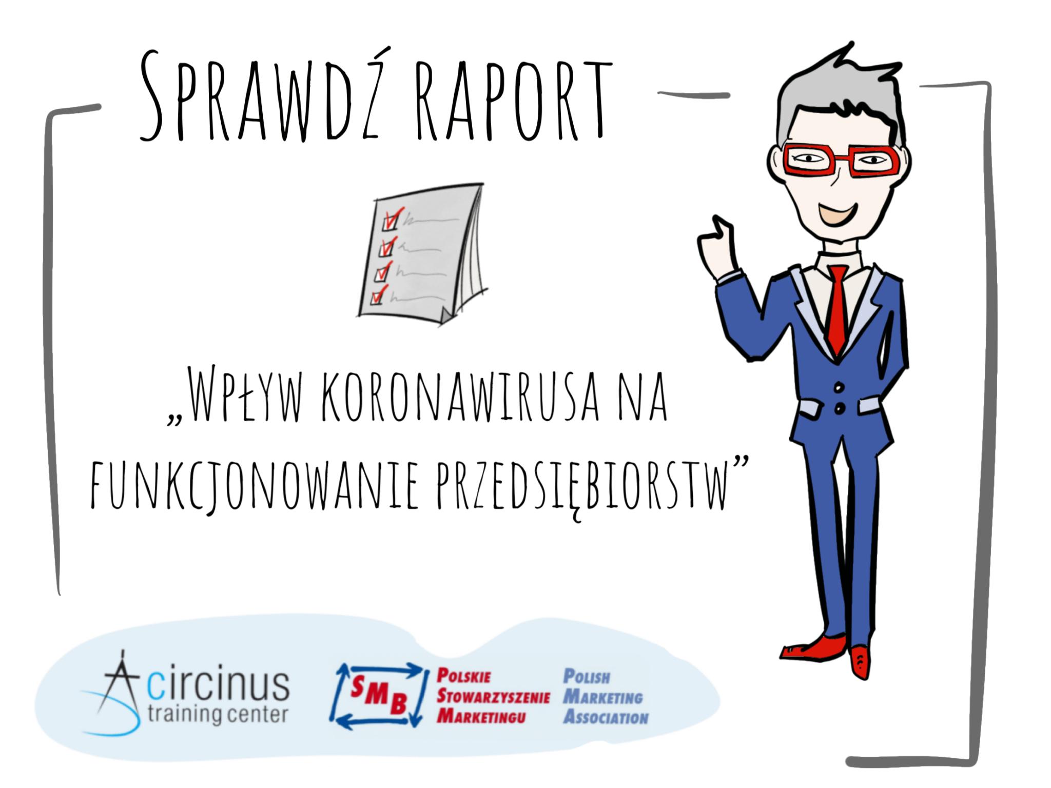 Raport z badania: Wpływ koronawirusa na funkcjonowanie przedsiębiorstw